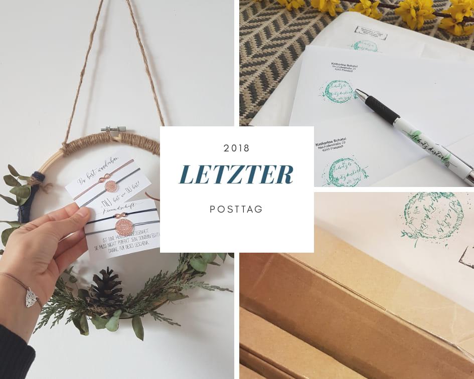 Letzter Posttag 2018!