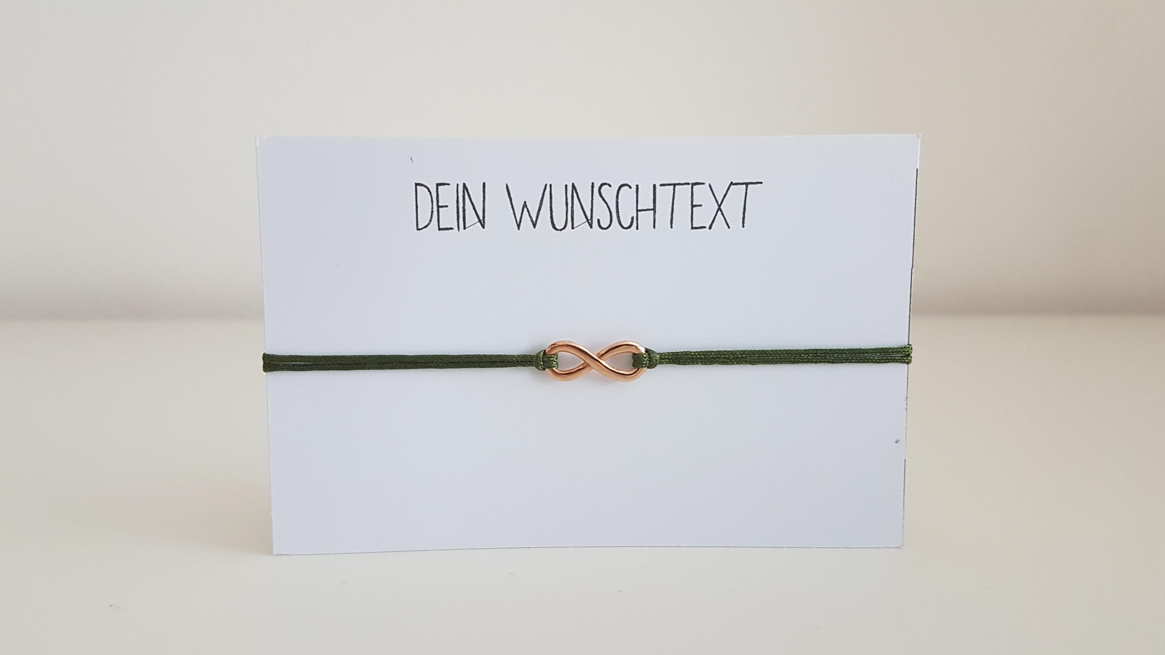 Band mit Wunschtext