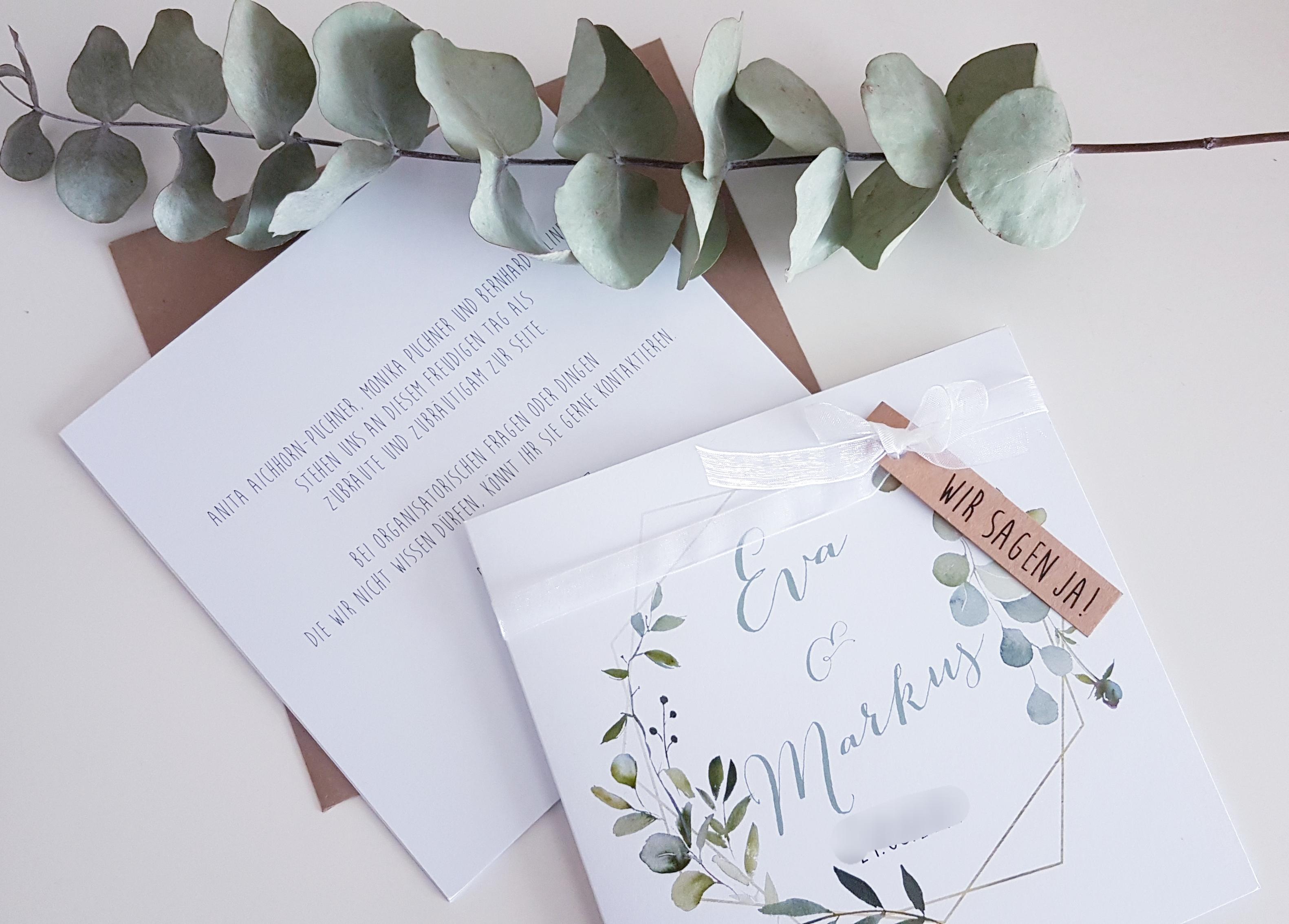 Einladung Eucalyptus 2