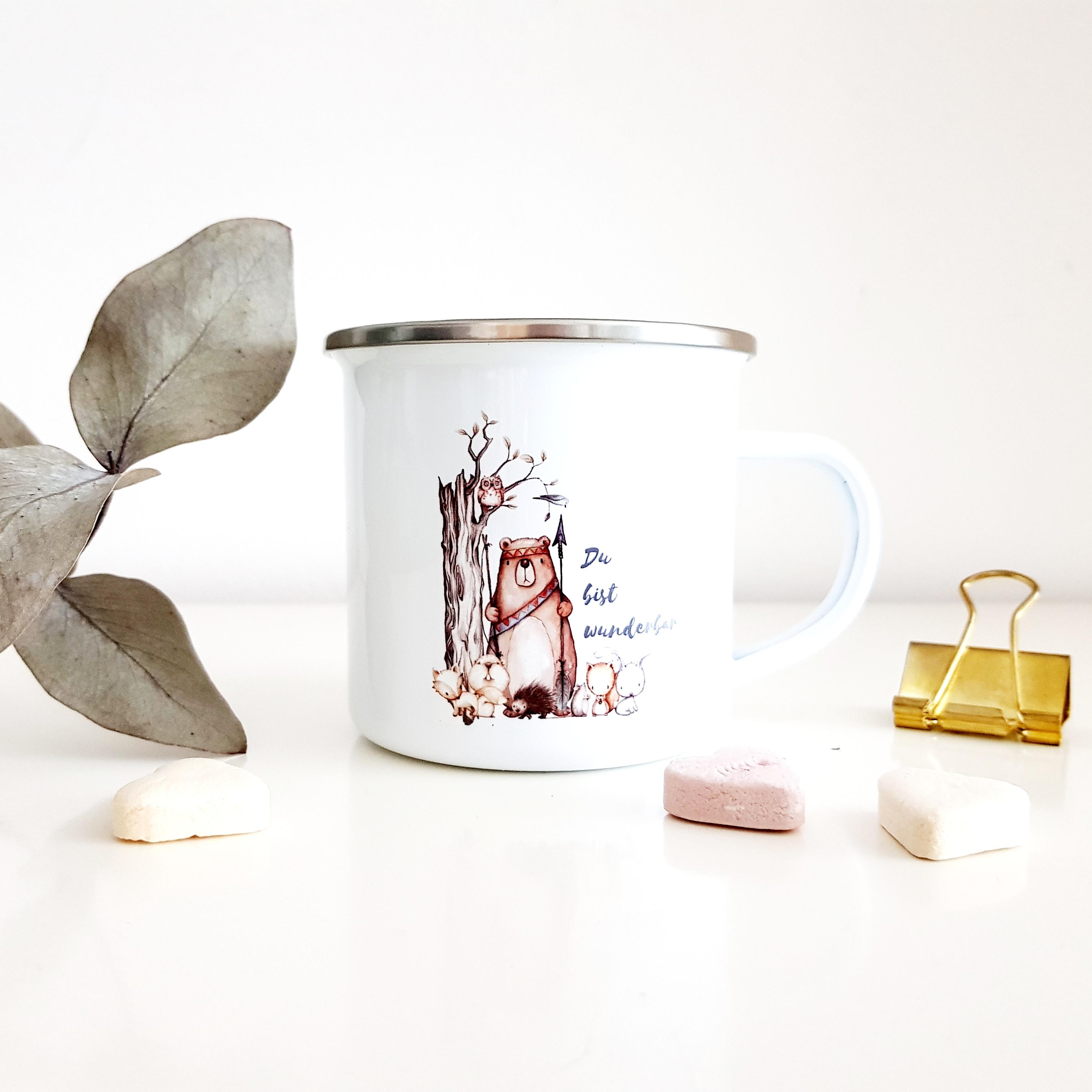 Tasse Bär Wunderbar