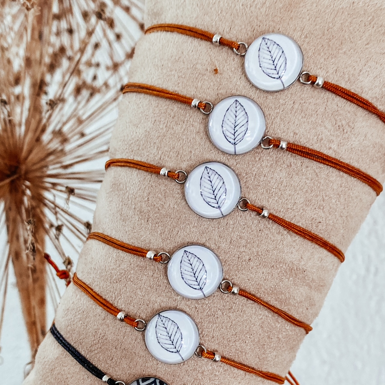 Armband Blatt